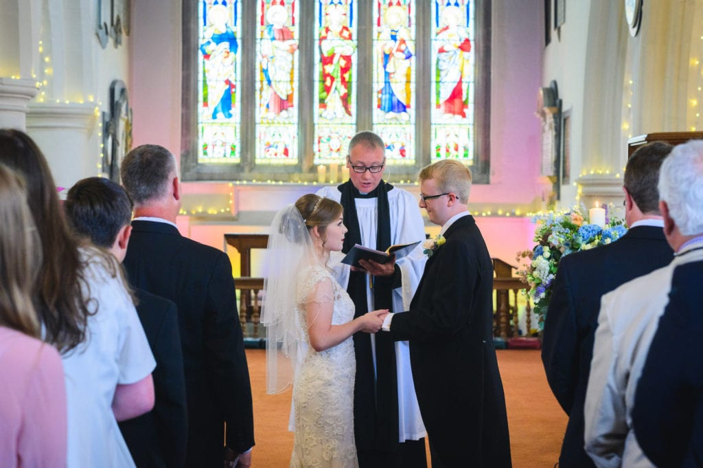 Church wedding in Guildford