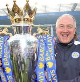 Steve Walsh who played a pivotal role to Leicester City